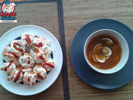 Menú desde Recetas Fáciles de Sopa y Huevos