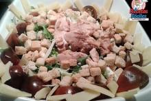 Recetas Fáciles de Ensalada de Pollo, Lechugas, queso