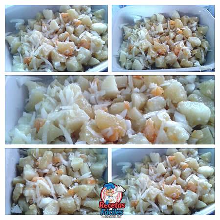 Recetas Fáciles de Ensalada de Patatas, Cebolla y Huevo Duro