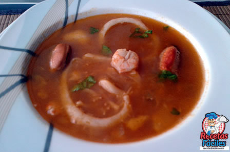 Recetas Fáciles de Sopa de Mariscos