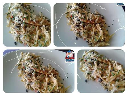 Recetas Fáciles de Huevos Ratatouille y Patatas Paja