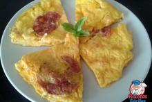 Recetas Fáciles de Tortilla de Chorizo y 4 Quesos
