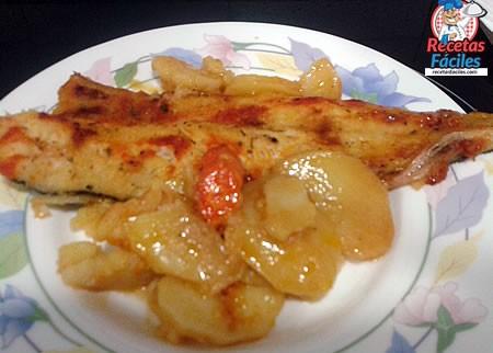receta de filetes de merluza al horno