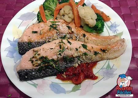 Recetas Fáciles de Salmón a la Plancha con verduras