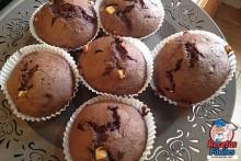 Recetas Fáciles de Muffins o Magdalenas de Chocolate