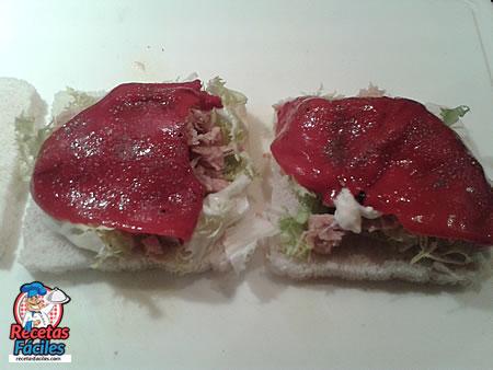 Recetas Fáciles de Sandwich Vegetal