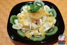 Recetas Fáciles de Frutas, Mandarina, Melon, Melocoton, Pera, Kiwi y Plátano