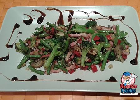 Recetas Fáciles de Menestra de Verduras con Bacon