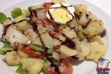 Recetas Fáciles Ensalada Campera de Patatas