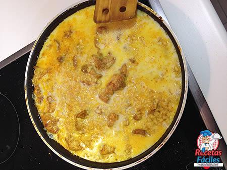 Recetas Fáciles Arroz con Pollo y Curry