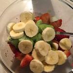 Recetas Fáciles de Postre de Frutas Naturales, Kiwi, Plátano y Fresas