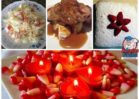 Men cena d a de san valent n - Noche romantica en casa ideas ...