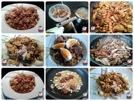 Recetas Fáciles de Garbanzos Fritos o Ropa Vieja