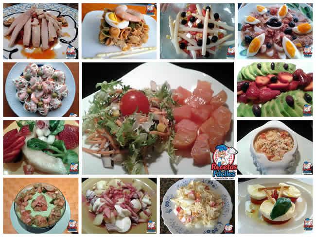 resumen de recetas fciles ensaladas y platos frios