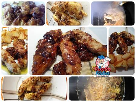 Receta Fáciles Solomillos de Pollo con Cebolla y Queso