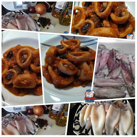 Recetas Fáciles de Calamares a la Mallorquina