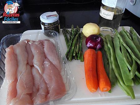 Recetas Fáciles de Solomillos de Pollo con Verduras