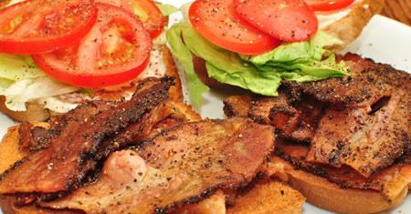 Prepara un delicioso Sándwich BLT en menos de 10 minutos