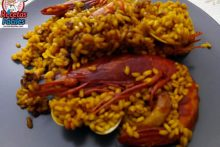 Recetas Fáciles de Paella de Carabineros y Gambas Rojas