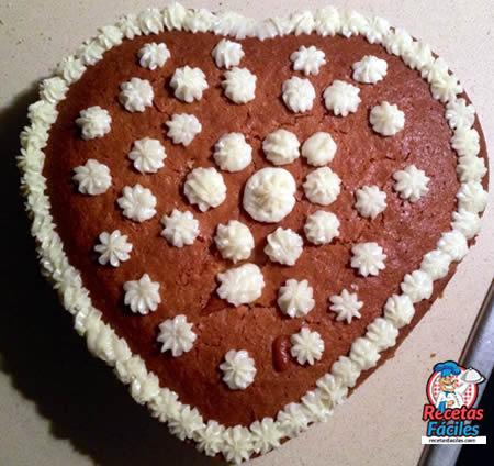 Recetas Fáciles de Bizcocho de chocolate y vainilla