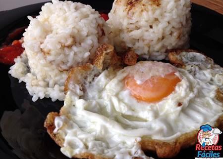 arroz a la cubana recetas fáciles