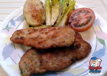 Recetas Fáciles de Filetes de Lomo de Cerdo Empanados