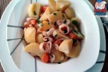 Recetas Fáciles Guiso de Patatas con Calamar