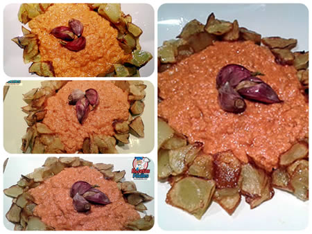 Recetas fáciles de huevos revueltos con atún y salsa de tomate