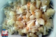 Recetas Fáciles de Ensalada de Patatas, con cebolla y huevo duro