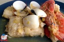 Recetas Fáciles de Merluza en Salsa con Almejas y Langostinos