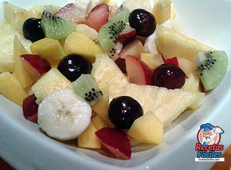 Recetas Fáciles de Macedonia de Frutas