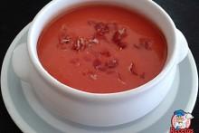 Recetas Fáciles de Sopa Fría de Tomate con Jamón