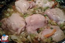 Recetas Fáciles de Contramuslos de Pollo con Verduras