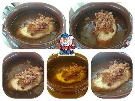Recetas Fáciles de Sopa de Cebolla con Pan y Queso