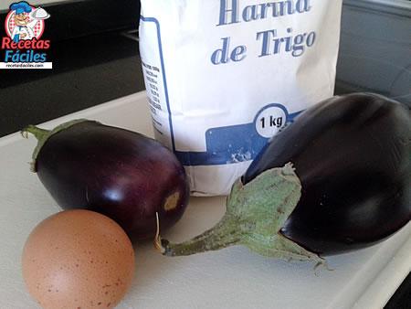 Recetas Fáciles ingredientes berenjenas rebozadas