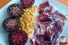 Recetas Fáciles de Jamón de Jabugo con Tomates Ibéricos