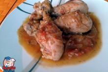 Receta Fácil de Muslos de Pollo en Salsa