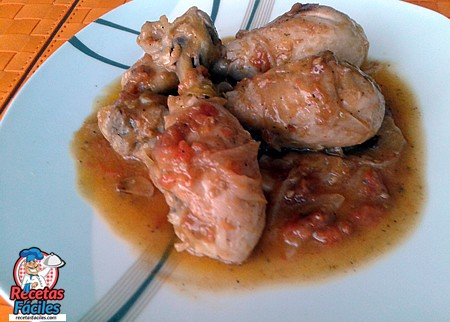 Receta de muslos de pollo en salsa for Muslos pollo en salsa