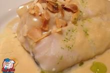 Recetas Fáciles de Bacalao Confitado con Salsa de Puerros y Ajos Tostados