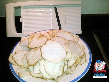 Recetas Fáciles de Chips de Boniato Picantes