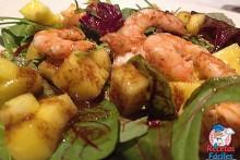 Recetas Fáciles de Ensalada de Langostinos, Mango y Frutos Secos