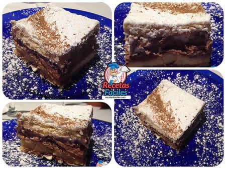 Recetas Fáciles de Hojaldre relleno de Nata y Chocolate