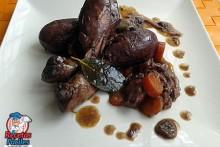 Recetas Fáciles de Muslos de Pollo al Vino Tinto