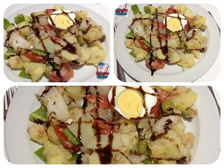 Recetas Fáciles de ensalada de patatas o ensalada campera