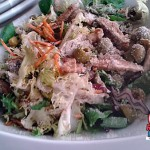 Rectas Fáciles de Ensalada de Escarola, Lechugas, Pollo y Queso