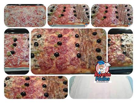 Recetas Fáciles de Pizza Casera Variada