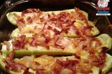 Recetas Fáciles de Calabacines con Bacon y Queso