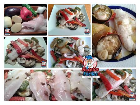 Recetas Fáciles de Merluza al Horno con Verduras
