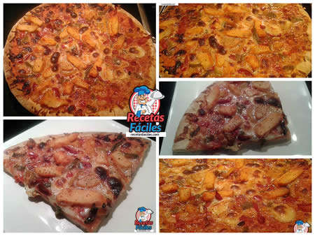 Recetas Fáciles de Pizza de Pollo