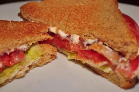 sandwich BLT recetas faciles